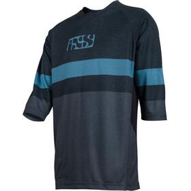 IXS Vibe 7.1 BC 3/4 Jersey Men black/brisk blue